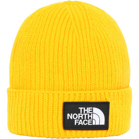 The North Face Box Logo Cuff Beanie Youth summit gold